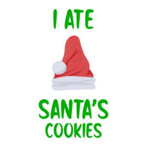 I Ate Santa's Cookies - Funny Christmas T-Shirt
