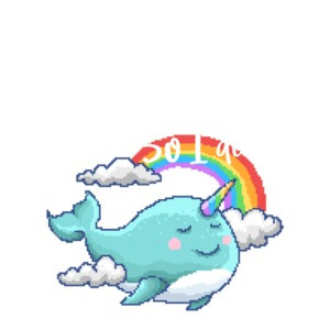 I Believe I Could Fly So I Did Motivational Narwhal T-Shirt