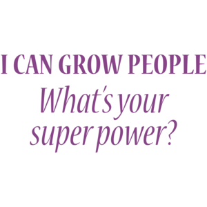 I Can Grow People. What's Your Super Power?  Funny Maternity Shirt