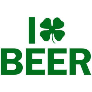 I Clover Beer St. Patrick's Day Shirt