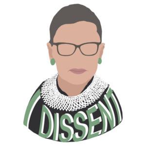 I Dissent Ruth Bader Ginsburg RBG Tribute Shirt