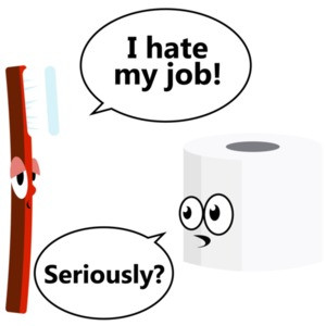 I hate my job. Seriously? Funny T-Shirt