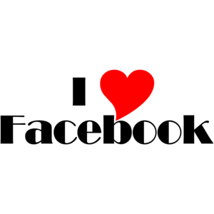 I Love Facebook T-shirt
