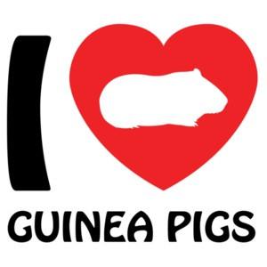 I love guinea pigs - guinea pig t-shirt