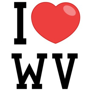 I love (heart) West Virginia T-Shirt