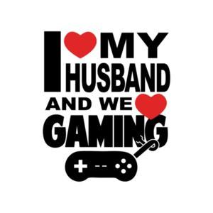 I Love My Husband And We Love Gaming T-Shirt