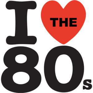 I Love The 80's T-shirt