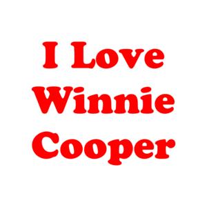 I Love Winnie Cooper - The Wonder Years - T-Shirt