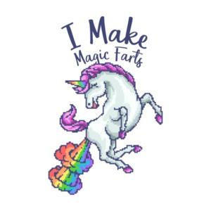 I Make Magic Farts Unicorn T-Shirt