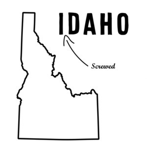 I Screwed Daho - Idaho T-Shirt