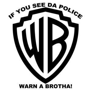 If You See Da Police Warn A Brotha Shirt