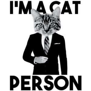 I'm a cat person - funny cat t-shirt