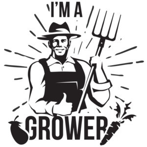 I'm a grower - funny sexual t-shirt