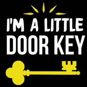 I'm a little door key - funny pun t-shirt