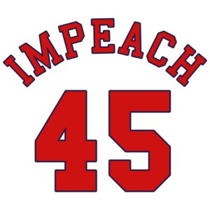 Impeach 45 (Donald Trump) Banned T-Shirt