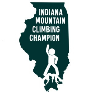Indiana Mountain Climbing Champion - Indiana T-Shirt