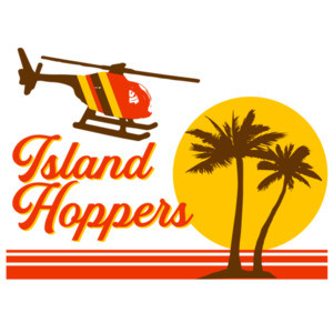 Island Hoppers - Magnum PI 80's T-Shirt