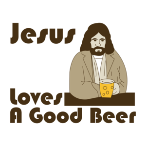 Jesus Loves A Good Beer T-shirt