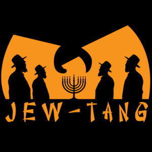 JEW-TANG - Wu-Tang Clan Parody hiphop 90s T-Shirt
