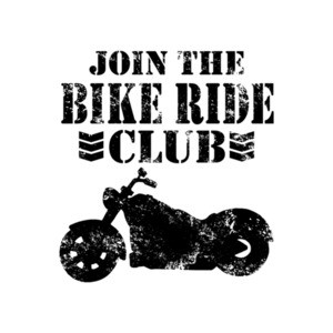 Join The Bike Ride Club T-Shirt