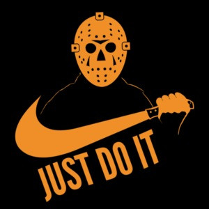 Just Do It - Jason Voorhees - Friday The 13th Nike Parody Shirt