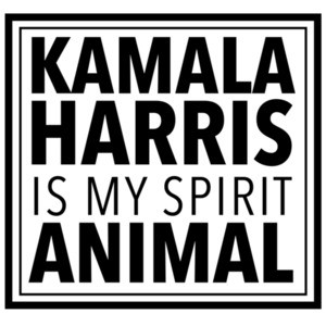 Kamala Harris is my spirit animal - Kamala Harris t-shirt
