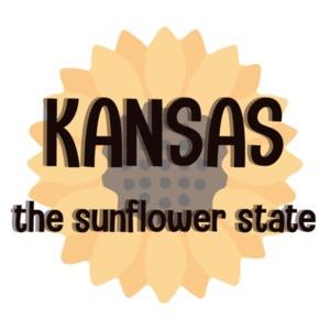 Kansas - the sunflower state - Kansas T-Shirt
