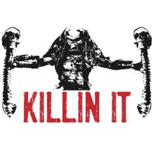 Killin It - Predator - 80's t-shirt