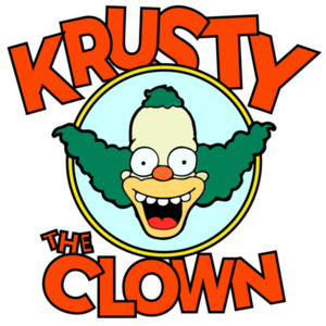 Krusty The Clown - The Simpsons - 90's T-Shirt