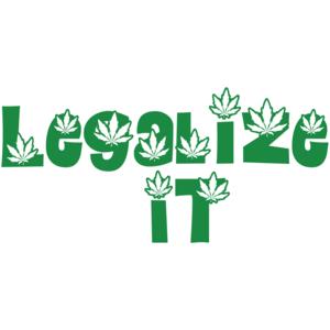 Legalize It - Marijuana Shirt