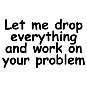 Let Me Drop Everything Shirt