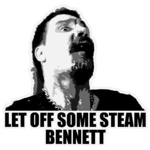 Let Off Some Steam Bennett - Commando - Arnold Schwarzenegger - 80's T-Shirt