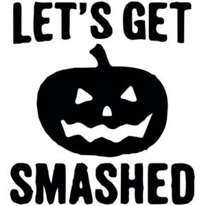 Let's get smashed - halloween pumkin t-shirt