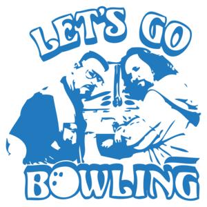 Let's Go Bowling The Big Lebowski T-shirt