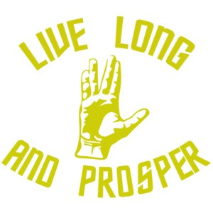 Live Long and Prosper - Star Trek T-Shirt