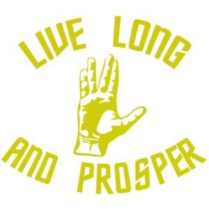 Live Long and Prosper - Star Trek T-Shirt