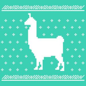 Llama - Ugly Christmas Sweater - Christmas T-Shirt