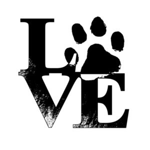 Love Dog Paw T-Shirt