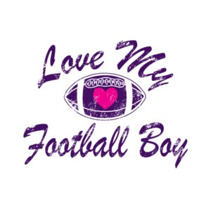 Love My Football Boy Mom T-Shirt