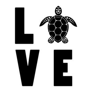 LOVE Turtle - turtle t-shirt