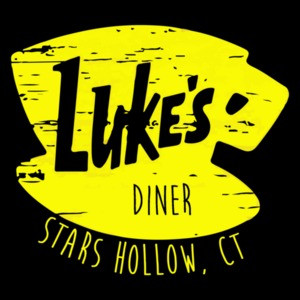 Luke's Diner Stars Hallow, CT Gilmore Girls t-shirt