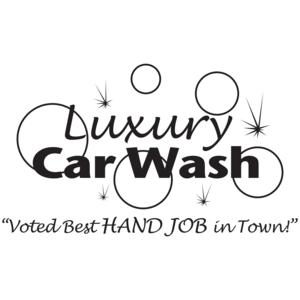 Luxury Car Wash Best Handjob In Town T-shirt