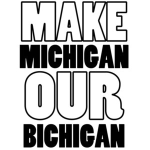 Make Michigan our bichigan - Ohio T-Shirt