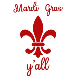 Mardi Gras Y'all - Show me your beads - Louisiana T-Shirt