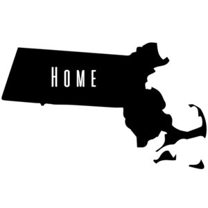 Massachusetts Home T-Shirt