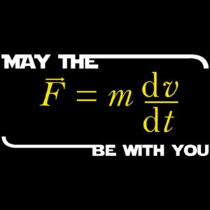 May The Force Be With You - Star Wars T-Shirt