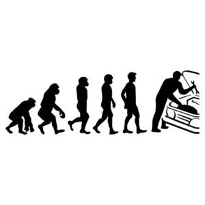 Mechanic Evolution - Funny Mechanic T-Shirt