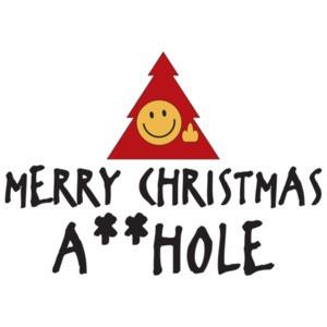 MERRY CHRISTMAS A**HOLE T-SHIRT