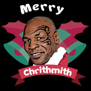 Merry Chrithmith - Mike Tyson Christmas T-Shirt