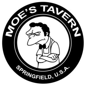 Moe's Tavern Springfield USA The Simpsons T-Shirt